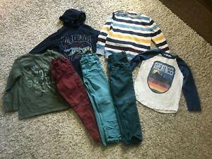 GAP H&M Gymboree lot 7+ tees sweater jeans sz 4