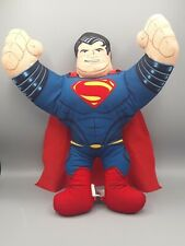 """New listing SUPERMAN Hero Buddies Man of Steel 15"""" Mattel 2012 Plush Doll Tested and Works"""