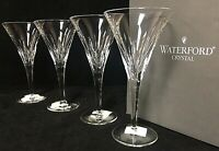 Rare Waterford LONDON Wine Lead Crystal Wine Glass Set of 4 - Never Used