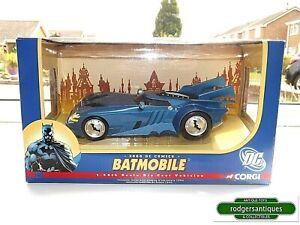 "Corgi Batman DC Comics 2000 BATMOBILE 1:24 Large 7.5"" Diecast Model Mint in Box"