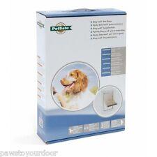 Staywell Petsafe 620 chien moyen porte 2 voies ALUMINIUM BLANC Chatière 620ML