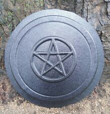 concrete Pagan wicca celtic stepping stone plastic mold pentagram