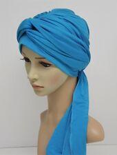 Turbante, volumen desgaste del cabezal, completo Headcover, Turbante Sombrero con largos extremos, Elástico