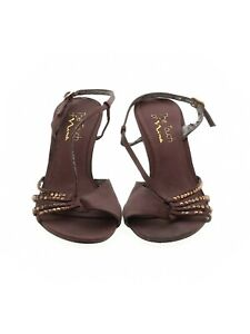 The Touch Of Nina Size 8.5 open toe high Heels
