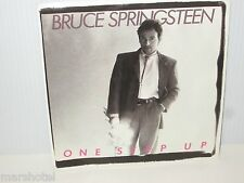 BRUCE SPRINGSTEEN THE BOSS ONE STEP UP 45RPM SINGLE PICTURE SLEEVE RECORD VINYL