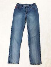 Vintage Bongo Mom Jeans Womens Size 9 High Rise Waisted Straight Leg Medium Wash