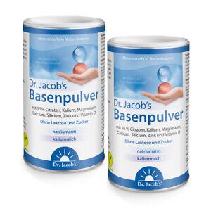2x Dr. Jacob's Basenpulver 300g - Doppelpack - Das Original - Gesundheit