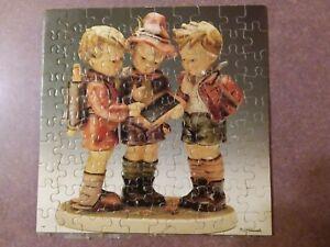 Schmid miniature Puzzle M.J. Hummel  Hum 170 School Boys 100 Piece
