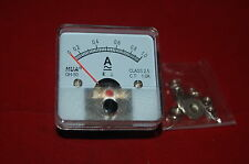 1PC AC 1A Analog Ammeter Panel AMP Current Meter 50*50mm 0-1A
