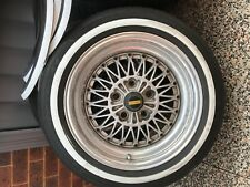 V5 Simmons Wheels with White Walls fits HQ- WB.  Commodore VC-VL. Diameter 16/8.