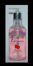 1 Bath & Body Works Sunshine Cherries Nourishing Hand Soap with Olive Oil New