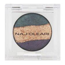 Naj Oleari Trilogy Ombretto Trio Eyeshadow Shade 05 Green/Gold/Purple Metallic