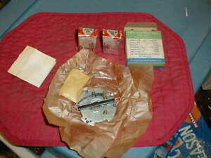 NOS 1956-7 DUAL POINT DIST BREAKER PLATE OLDSMOBILE PONTIAC NASH CADILLAC HUDSON