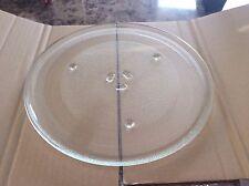 "Round Glass Microwave Tray GE WB39X10003 WB39X10002 WB49X10069  12-1/2"" Diameter"