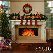 XMAS 10x10 FT CP (COMPUTER PRINTED) PHOTO SCENIC BACKGROUND BACKDROP sy616
