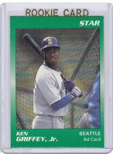 PROMO~RC~KEN GRIFFEY JR 1989 Star Ad_Green ROOKIE CARD~89~HOF~MVP~AS~SEA~THE KID