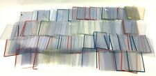 Mixed Lot 145 Clear Plastic Rigid Semi-Rigid Baseball Card Top Loaders Holders