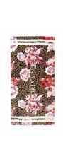 victoria's Secret Leopard/floral print towel
