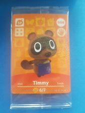 008 Timmy NEW IN PACKAGE Animal Crossing Amiibo Card Single Happy Home Designer