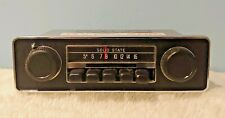 Vintage Solid State 100007-072 Car Radio Am Tuner