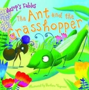 Aesop's Fables the Ant and the Grasshopper by Miles Kelly (Paperback, 2016)