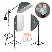 Continu softbox studio lighting kit - 3 head 3300w-photographie photo vidéo