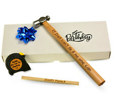 Birthday Christmas Present for Him Dad Grandad Personalised DIY Father's hammer