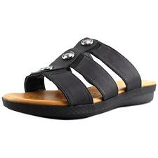 Flat (0 to 1/2 in.) Canvas Wide (C, D, W) Sandals & Flip Flops for Women