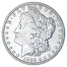 W@W Early 1885 Morgan Silver Dollar - 90% US Coin - Nice Coin *127