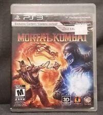 Mortal Kombat (Sony PlayStation 3, 2011) PS3 Video Game