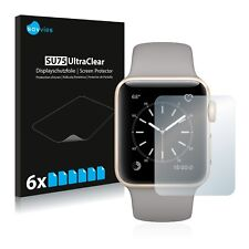 6x Savvies Screen Protector for Apple Watch Series 2 (38mm) Ultra Clear