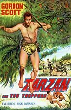 Tarzan and the Trappers (1958) Action, Adventure TV Movie Film Classic DVD