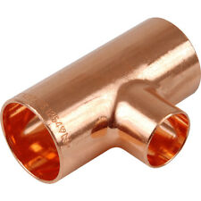 Reducing Tee Copper Plumbing Pipe  End Feed - All Sizes