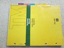 John Deere Sprayers Technical Manual Tm-1083