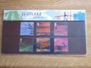 GB Presentation Pack 349 Scotland A British Journey