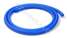 """GAS FUEL LINE HOSE BLUE 39"""" +2 CLAMPS GY6 SCOOTER GOKART QUAD VIP PEACE JONWAY"""