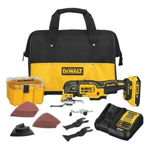 DeWALT DCS356D1 20V MAX XR Brushless Cordless 3-Speed Oscillating Multi-Tool Kit