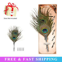 Retro Feather Dip Pen Writing Ink Set Quill Pen Fountain Pens Birthday Gift