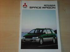 44314) Mitsubishi Space Wagon Prospekt 09/1997