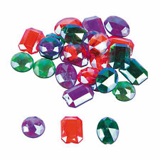 Colored Iridescent Self-Adhesive Jewels - Craft Supplies - 200 Pieces