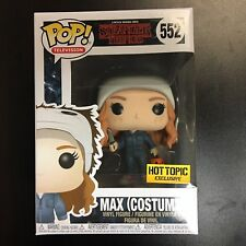 Funko POP Stranger Things Max Costume - Hot Topic Exclusive