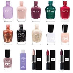 Zoya Nail Polish, Lipsticks, Naked Manicure. Buy 1 Get 1 at 50% Discount.