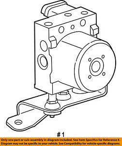 CHRYSLER OEM ABS Anti-lock Brakes-Modulator Valve 5179771AA