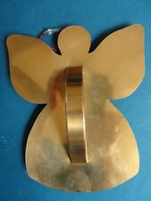 "CAPE COD COPPER WORKS - ORLEANS MA - COPPER CHRISTMAS ANGEL COOKIE CUTTER 7""x5.5"