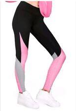e7c32eaeaa218 Victorias Secret Pink Super soft Yoga Leggings XS X Small Black Pink  Colorblock