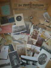 WW1 GROS LOT A TRIER VIEUX PAPIER PHOTO JOURNAUX CARTE LIVRET CPA 1914 1918