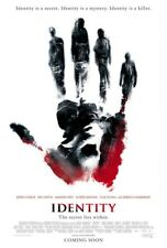 IDENTITY MOVIE POSTER 1 Sided ORIGINAL ROLLED 27x40 JOHN CUSACK