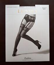 New La Perla Suspender Stockings Zephira Stockings Size M White