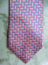 CHARLES TYRWHITT Krawatte 100% Seide #TRAUM IN PINK/HELLBLAU/WEISS#WIE NEU!