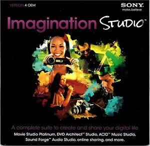 Sony Imagination Studio 4 - Brand New - Sealed DVD